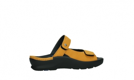 wolky slippers 03926 zaandam 11550 orange yellow nubuck_24