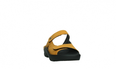 wolky slippers 03926 zaandam 11550 orange yellow nubuck_6