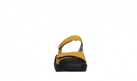 wolky slippers 03926 zaandam 11550 orange yellow nubuck_7