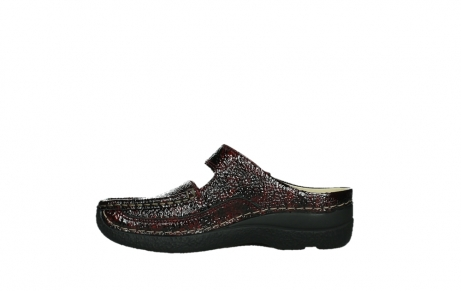 wolky slippers 06227 roll slipper 65510 burgundy red leather_13