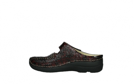 wolky slippers 06227 roll slipper 65510 burgundy red leather_14