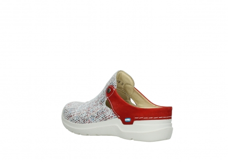 wolky slippers 06600 holland 41910 white multi suede_4