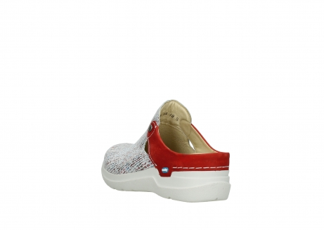 wolky slippers 06600 holland 41910 white multi suede_5