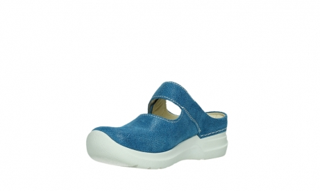 wolky slippers 06610 narni 15865 royal blue nubuck_10