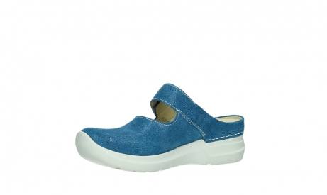 wolky slippers 06610 narni 15865 royal blue nubuck_11