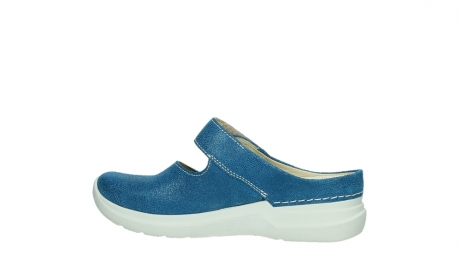 wolky slippers 06610 narni 15865 royal blue nubuck_14