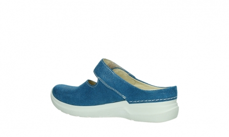 wolky slippers 06610 narni 15865 royal blue nubuck_15