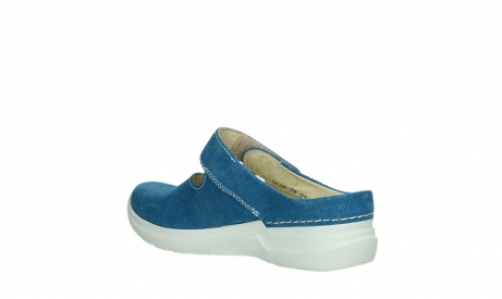 wolky slippers 06610 narni 15865 royal blue nubuck_16