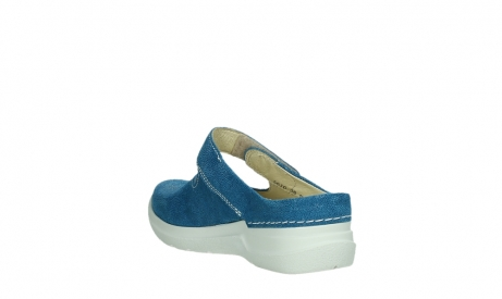 wolky slippers 06610 narni 15865 royal blue nubuck_17