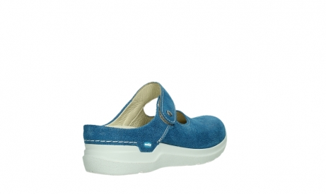 wolky slippers 06610 narni 15865 royal blue nubuck_22