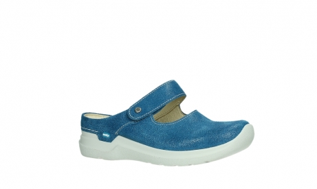 wolky slippers 06610 narni 15865 royal blue nubuck_3