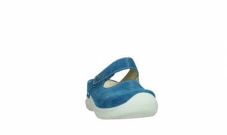 wolky slippers 06610 narni 15865 royal blue nubuck_6