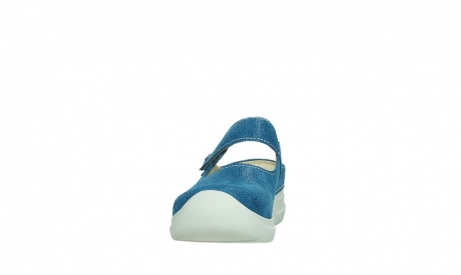 wolky slippers 06610 narni 15865 royal blue nubuck_8