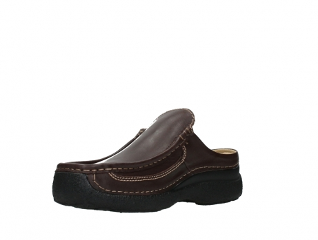 wolky heren slippers 09210 roll slide men 50300 brown leather_10