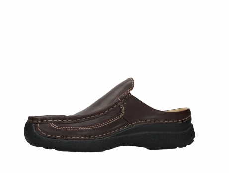 wolky heren slippers 09210 roll slide men 50300 brown leather_12