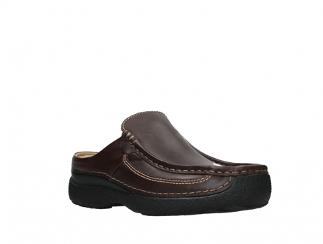 wolky heren slippers 09210 roll slide men 50300 brown leather_4