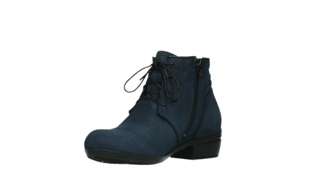 wolky lace up boots 00955 delano 13800 blue nubuckleather_10
