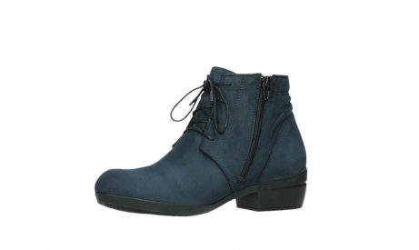 wolky lace up boots 00955 delano 13800 blue nubuckleather_11