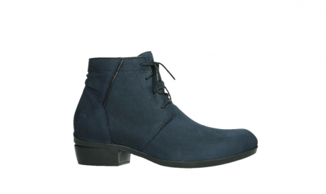 wolky lace up boots 00955 delano 13800 blue nubuckleather_2