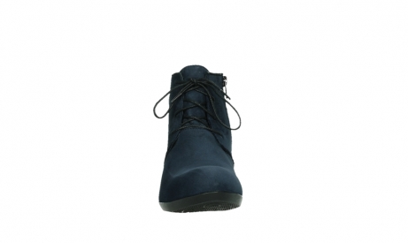 wolky lace up boots 00955 delano 13800 blue nubuckleather_7