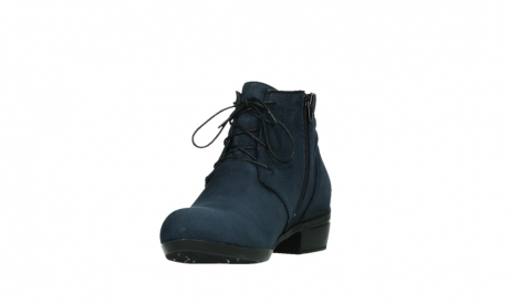 wolky lace up boots 00955 delano 13800 blue nubuckleather_9