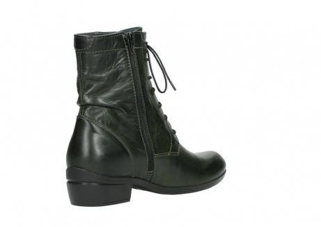 wolky lace up boots 00956 fortuna 30730 forest leather_10