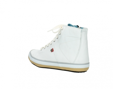 wolky lace up boots 01235 biker men 20120 offwhite leather_4