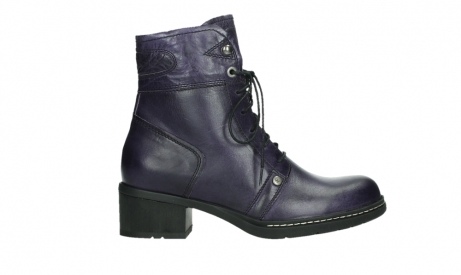 wolky lace up boots 01260 red deer 30600 purple leather_1