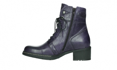 wolky lace up boots 01260 red deer 30600 purple leather_13