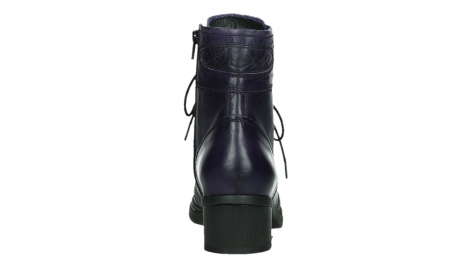 wolky lace up boots 01260 red deer 30600 purple leather_19