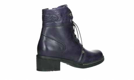 wolky lace up boots 01260 red deer 30600 purple leather_23