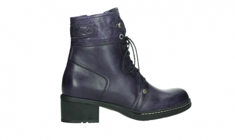 wolky lace up boots 01260 red deer 30600 purple leather_24