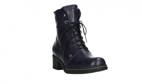 wolky lace up boots 01260 red deer 30600 purple leather_5