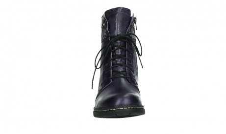 wolky lace up boots 01260 red deer 30600 purple leather_7