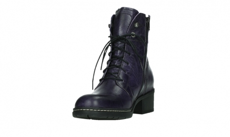 wolky lace up boots 01260 red deer 30600 purple leather_9