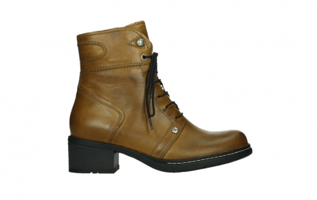 wolky ankle boots 01260 red deer 30925 dark ocher leather_1