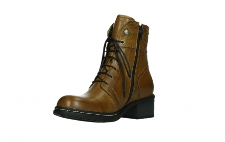 wolky ankle boots 01260 red deer 30925 dark ocher leather_10