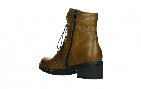 wolky ankle boots 01260 red deer 30925 dark ocher leather_16