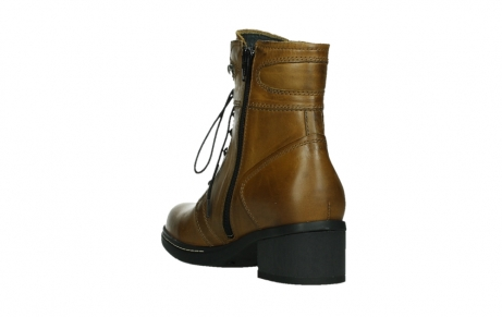 wolky ankle boots 01260 red deer 30925 dark ocher leather_17