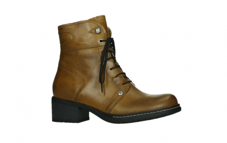 wolky ankle boots 01260 red deer 30925 dark ocher leather_2