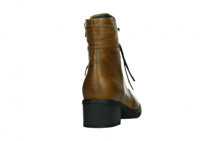 wolky ankle boots 01260 red deer 30925 dark ocher leather_20