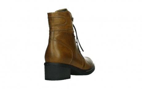 wolky ankle boots 01260 red deer 30925 dark ocher leather_21