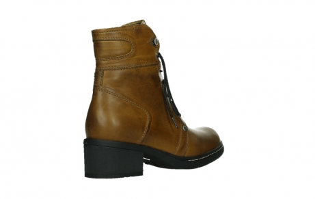 wolky ankle boots 01260 red deer 30925 dark ocher leather_22