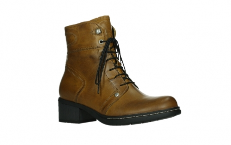 wolky ankle boots 01260 red deer 30925 dark ocher leather_3
