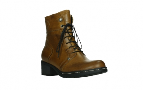 wolky ankle boots 01260 red deer 30925 dark ocher leather_4