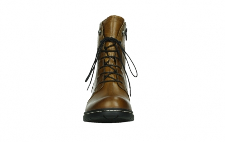 wolky ankle boots 01260 red deer 30925 dark ocher leather_7