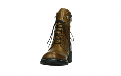 wolky ankle boots 01260 red deer 30925 dark ocher leather_8