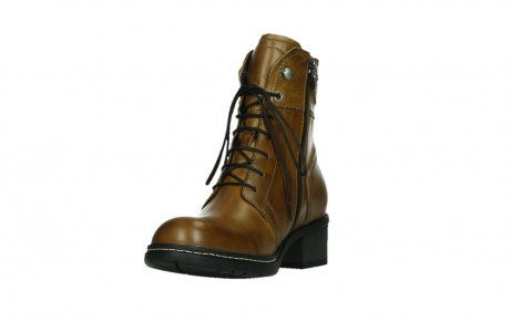 wolky ankle boots 01260 red deer 30925 dark ocher leather_9