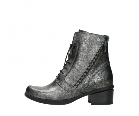 wolky ankle boots 01377 forth 81280 metal grey leather_1