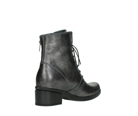 wolky ankle boots 01377 forth 81280 metal grey leather_10